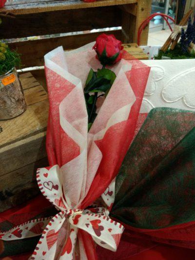 Rosas preservadas para San Valentín en Vitoria